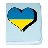 I Love Ukraine Infant Blanket