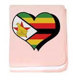 I Love Zimbabwe Infant Blanket