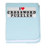 I Love Crosswords Infant Blanket