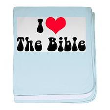 I Love The Bible 3 Infant Blanket
