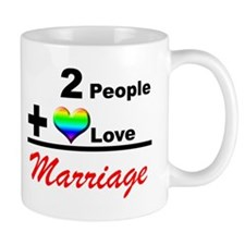 GLBT Marriage Math Coffee Mug