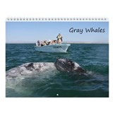Calendar-Whales (Gray)