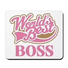 Worlds Best Boss Mousepad