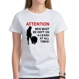Men Must Be Leashed Tee