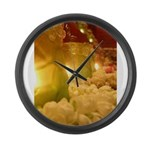 Singapore Temple Offering Lam Large Wall Clock