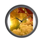 Singapore Temple Offering Lam Wall Clock