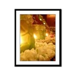 Singapore Temple Offering Lam Framed Panel Print