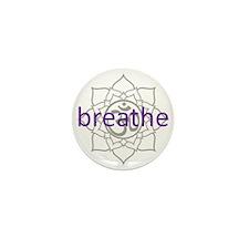 breathe Om Lotus Blossom Mini Button (10 pack)