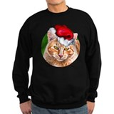 Meowy Christmas Tabby Sweatshirt