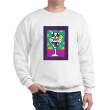 Boston Terrier Martini Sweatshirt
