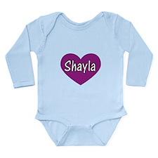 Shayla Long Sleeve Infant Bodysuit