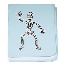 ILY Skeleton Infant Blanket