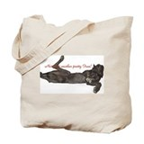 Blue Great Dane, Lazy Dane Tote Bag