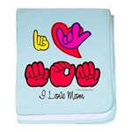 I-L-Y Mom Infant Blanket