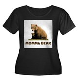 PROTECTING MY CUBS Women's Plus Size Scoop Neck Da