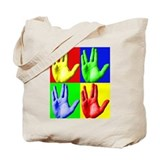 Vulcan Hand Tote Bag