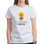 Proud Air Force Wife Chick Women's T-Shirt