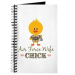 Proud Air Force Wife Chick Journal