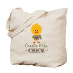 Coast Guard Wife Chick Tote Bag