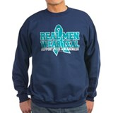Real Men Wear Teal PCOS Sweatshirt