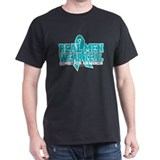 Real Men Wear Teal PCOS T-Shirt