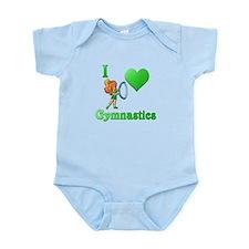 I Love Gymnastics #2 Infant Bodysuit