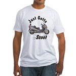 Just Gotta Scoot Burgman Fitted T-Shirt