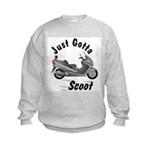 Just Gotta Scoot Burgman Kids Sweatshirt