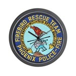 Firebird Rescue Team Wall Clock
