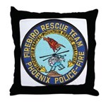 Firebird Rescue Team Throw Pillow