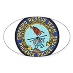 Firebird Rescue Team Sticker (Oval 10 pk)