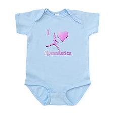 I Love Gymnastics #6 Infant Bodysuit
