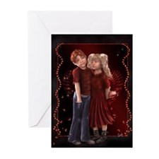 Pucker up Greeting Cards (Pk of 10)