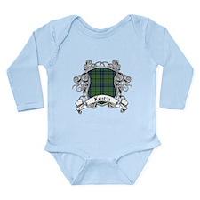 Keith Tartan Shield Long Sleeve Infant Bodysuit