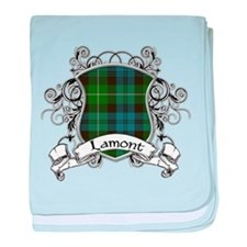 Lamont Tartan Shield baby blanket
