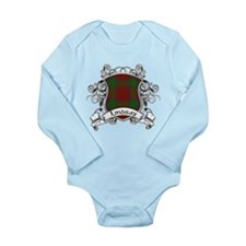 Lindsay Tartan Shield Long Sleeve Infant Bodysuit
