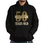 Certified 50 Years Old Hoodie (dark)