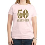 Certified 50 Years Old Women's Light T-Shirt