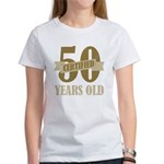 Certified 50 Years Old Women's T-Shirt
