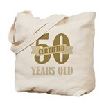 Certified 50 Years Old Tote Bag