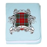 MacTavish Tartan Shield baby blanket