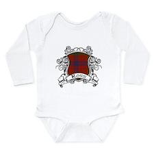 Ross Tartan Shield Baby Suit
