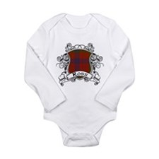 Ross Tartan Shield Long Sleeve Infant Bodysuit