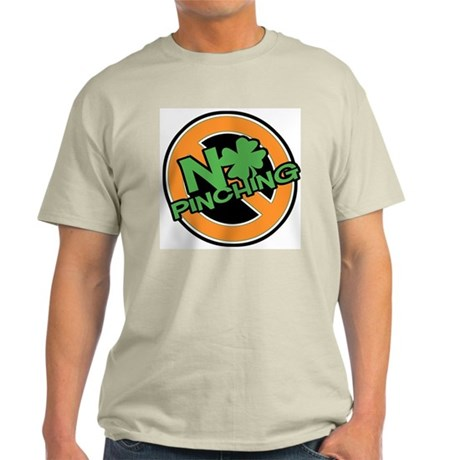 No Pinching Shamrock Light T-Shirt