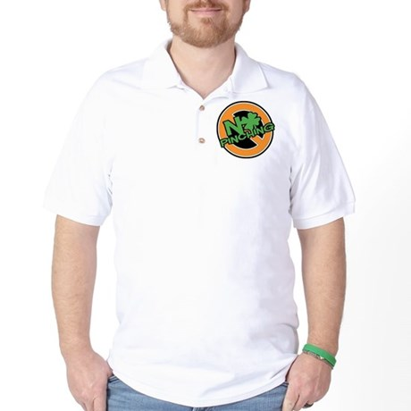No Pinching Shamrock Golf Shirt