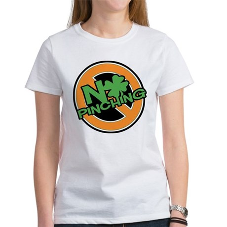 No Pinching Shamrock Women's T-Shirt