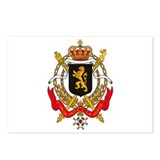 Belgium Coat of Arms Postcards (Package of 8)