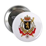 Belgium Coat of Arms 2.25&quot; Button (10 pack)