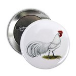 """Phoenix White Rooster 2.25"""" Button (100 pack)"""