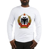 Albanian Coat of Arms Long Sleeve T-Shirt